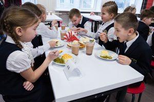 Совет федерации одобрил закон о бесплатном питании для младших классов