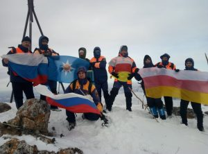 В Северной Осетии дан старт акции «Знамя над облаками»