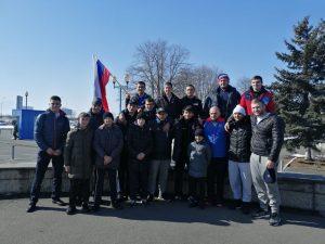 В Северной Осетии встретили чемпионов Европы по вольной борьбе