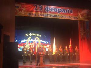 В Осетинском театре чествовали защитников Отечества