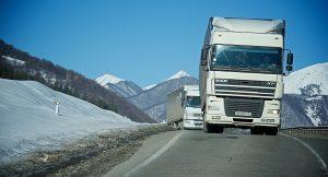 На Военно-Грузинской дороге снят запрет на проезд большегрузов