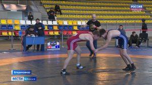 Во Владикавказе стартовал чемпионат республики по вольной борьбе