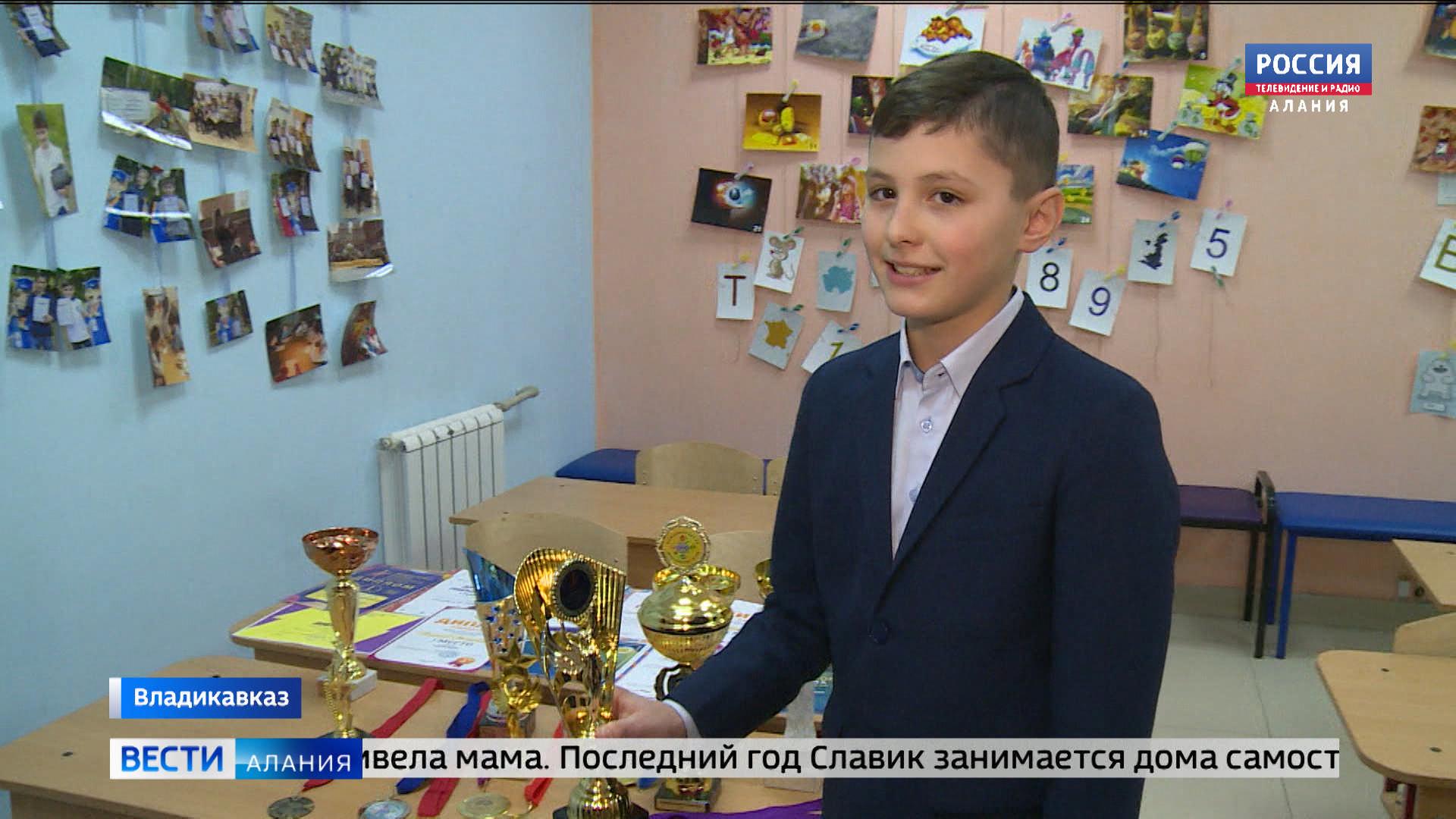 12-летний Вячеслав Чшиев продолжает покорять вершины ментальной арифметики