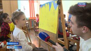 7-летняя художница из Владикавказа – победитель конкурса «Мы — дети Космоса»
