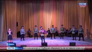 В Моздоке выступил государственный казачий ансамбль песни и танца «Ставрополье»