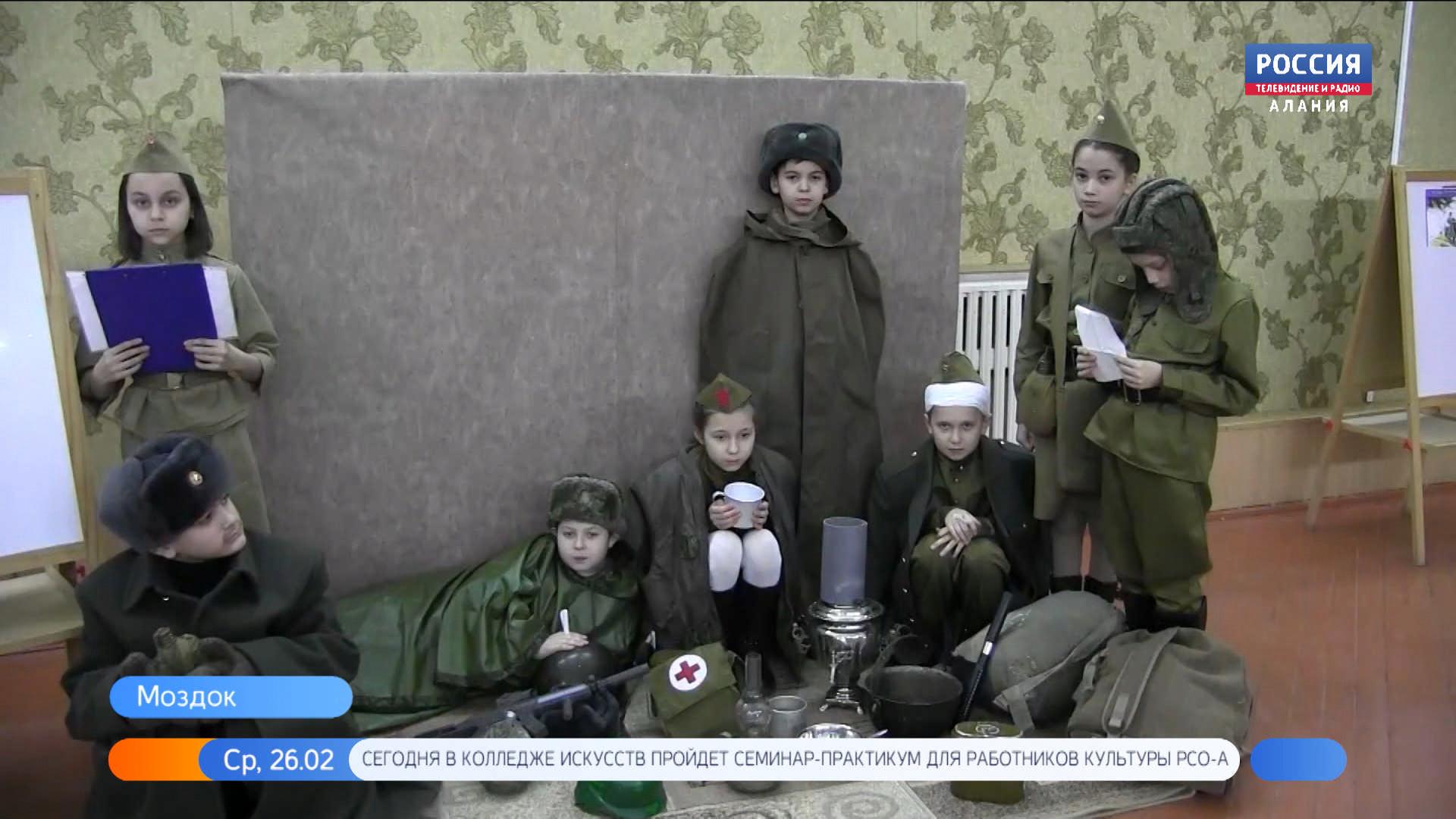 Во Моздоке представили выставку «оживших» картин