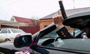 В Северной Осетии задержали участника свадебного кортежа, устроившего стрельбу