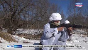 Военнослужащие 58-й армии стали победителями армейского этапа конкурса «Отличники войсковой разведки»