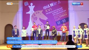 Альберт Агкацев — бронзовый призер «Moscow Open-2020»