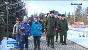 Во Владикавказе отметили 77-летие окончания Сталинградской битвы