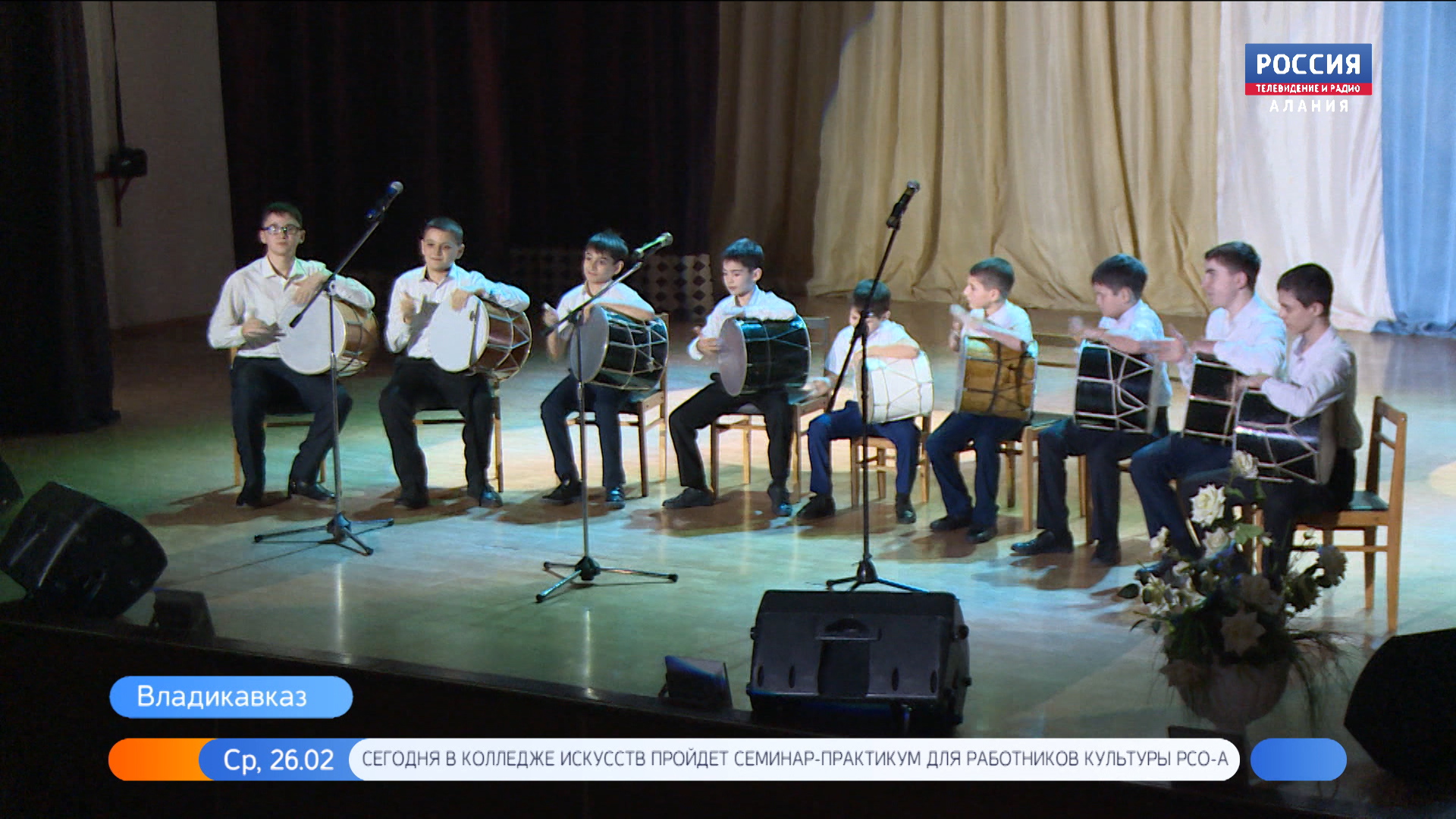 «Аланские скауты» поздравили представителей 58-армии с Днем защитника Отечества