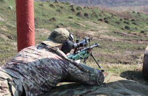 В Северной Осетии прошел чемпионат Росгвардии по стрельбе, приуроченный к 75-летию Победы