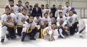 Хоккейный клуб «Алания» занял первое место на первенстве ЮФО и СКФО
