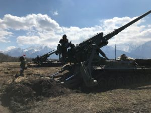 «Тюльпаны» и «Пионы» в Тарском: артиллеристы ЮВО приступили к полевым занятиям