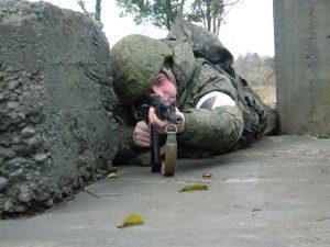 Мотострелки 58-й армии завершили активную фазу двустороннего ротного тактического учения
