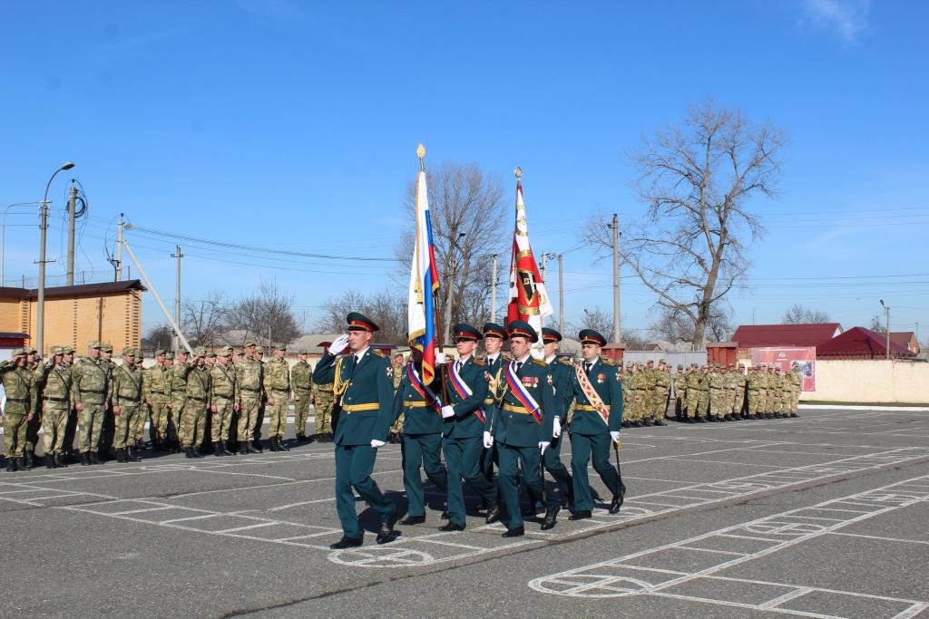 Воинская часть Росгвардии в Северной Осетии отметила 27-ю годовщину своего образования