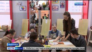 Во Владикавказе прошла акция, приуроченная ко всемирному дню человека с синдромом Дауна