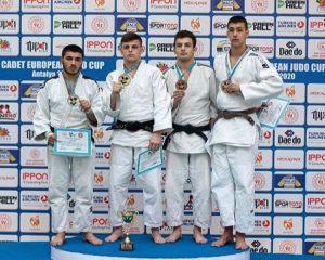 Эрик Темирканов стал призером Кубка Европы по дзюдо