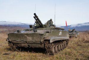 Мотострелки приступили к проведению активной фазы двустороннего ротного тактического учения в Северной Осетии