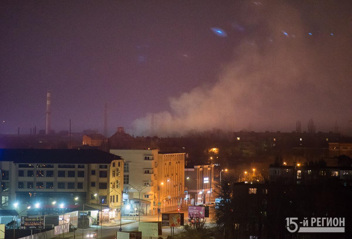 Во Владикавказе на территории завода «Электроцинк» произошел пожар
