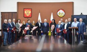 Во Владикавказе чествовали лучших работников сферы физической культуры и спорта по итогам минувшего года