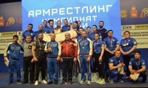 Сборная Северной Осетии завоевала 24 медали на чемпионате России по армрестлингу