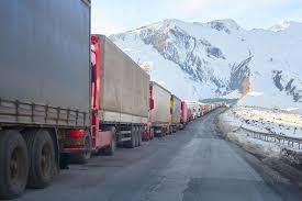 Военно-Грузинская дорога открыта с ограничениями для большегрузов
