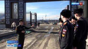 Курсанты Суворовского училища посетили строительную площадку новых корпусов учебного заведения