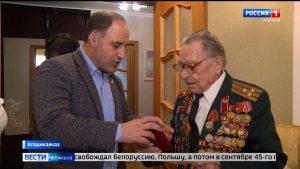Активисты ОНФ навестили ветеранов и тыловиков Великой Отечественной войны