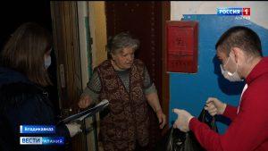 Волонтеры развезли самоизолированным и маломобильным жителям республики помощь от предпринимателей