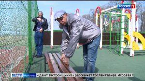 Активисты ОНФ оценили качество проведенного ремонта на детских площадках
