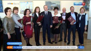 Эльбрус Скодтаев и Мурат Цирихов награждены медалями «Во Славу Осетии»