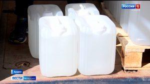 «Фарммед» безвозмездно передал 10 тысяч литров дезинфицирующего средства Минздраву Северной Осетии