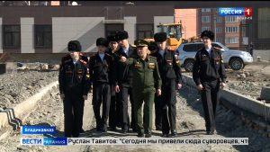 Воспитанники Суворовского училища в этом году начнут учебу в новых классах