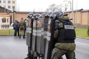 Военные полицейские ЮВО во Владикавказе получили на вооружение «Колпак» и «Черепаху»