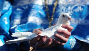 Православные верующие отмечают Благовещение