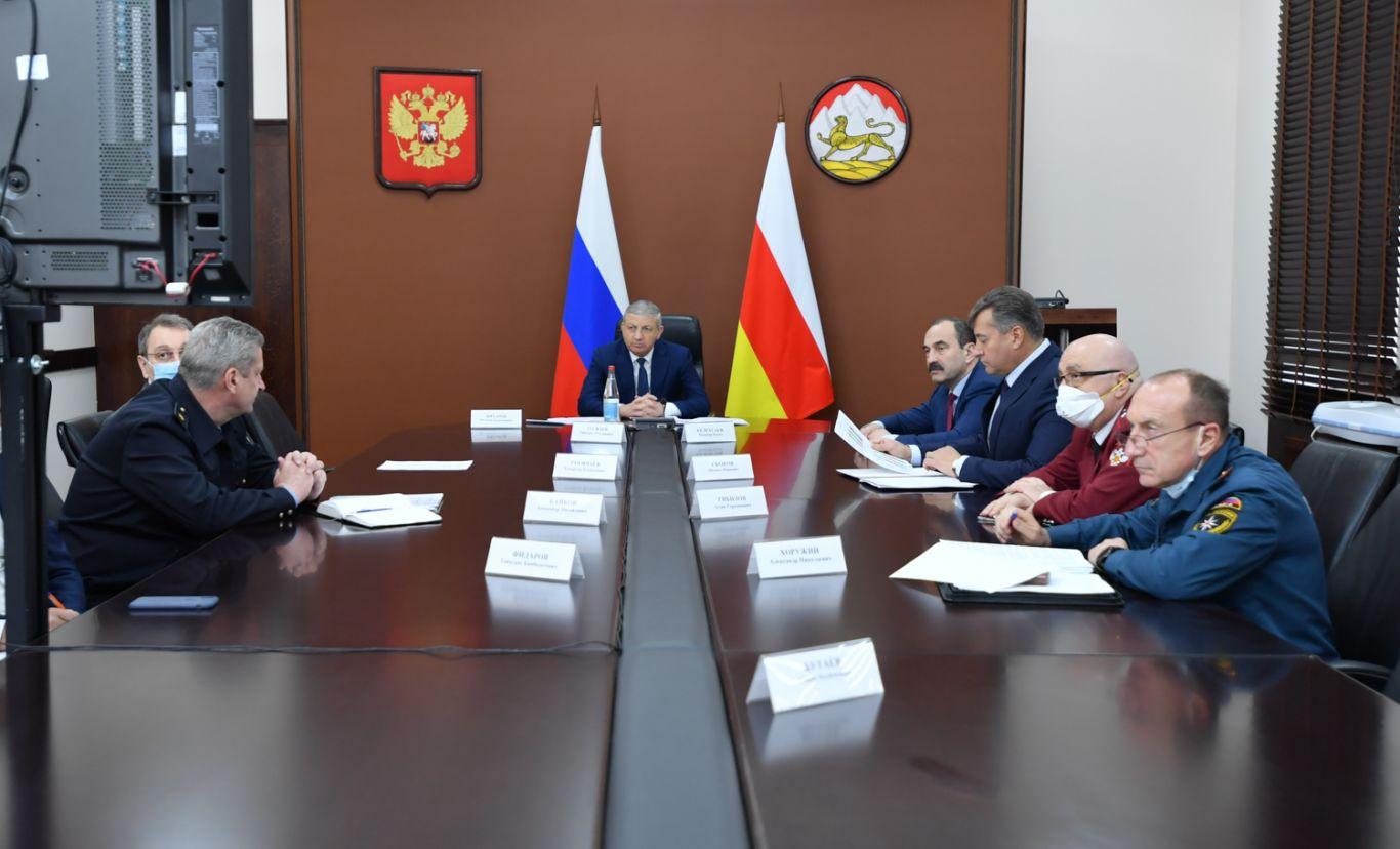 Вячеслав Битаров принял участие в совместном заседании Координационного и Госсовета по борьбе с распространением коронавируса