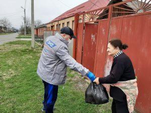 К акции #МыВместе присоединились волонтеры из отдаленных районов Северной Осетии