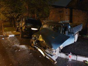 При столкновении двух легковушек во Владикавказе пострадал один человек