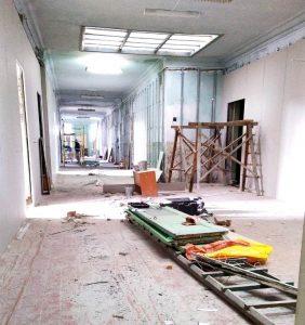 В Моздоке продолжается ремонт здания будущего «Кванториума»