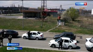 Въезд и выезд из Владикавказа стал регламентированным