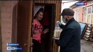 К североосетинским добровольцам примкнули автоволонтеры