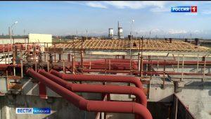 В Беслане началась реконструкция очистных сооружений