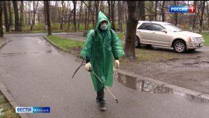 В Северной Осетии продолжается дезинфекция мест общего пользования
