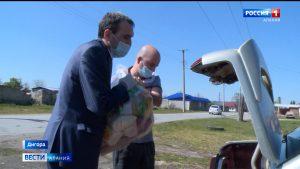 Волонтеры в Дигорском районе продолжают помогать нуждающимся