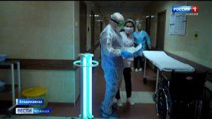 В эпицентре: врачи КБСП продолжают бороться с коронавирусом