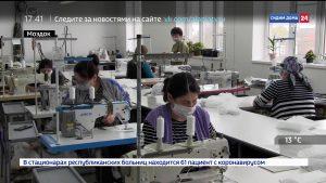 Павлодольская швейная фабрика наладила производство медицинских масок