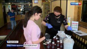 Одна из ресторанных сетей республики обеспечивает бесплатным питанием врачей