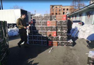 На российско-грузинской границе обнаружили более 170 тыс. пачек сигарет в цистерне для сжиженного газа