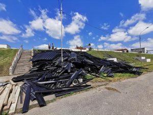 На очистных сооружениях Беслана проходит демонтаж старого оборудования